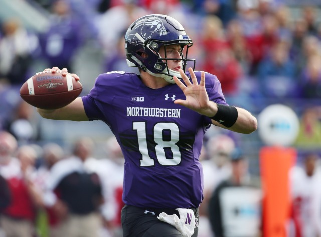 NCAA Football: Indiana at Northwestern