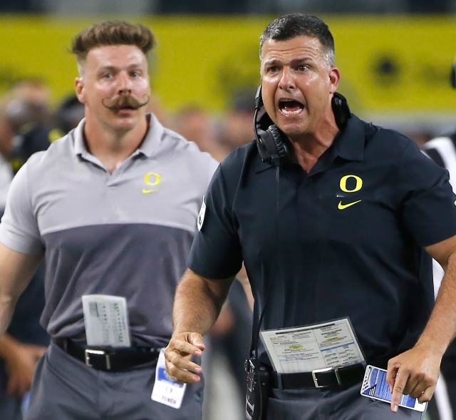 Oregon Auburn Football